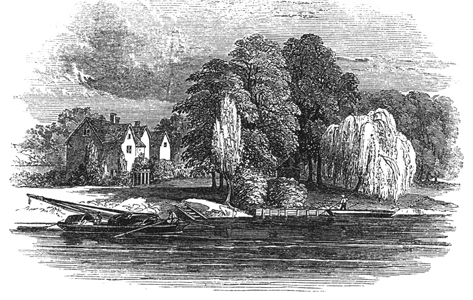 18th century engraving of what was left of