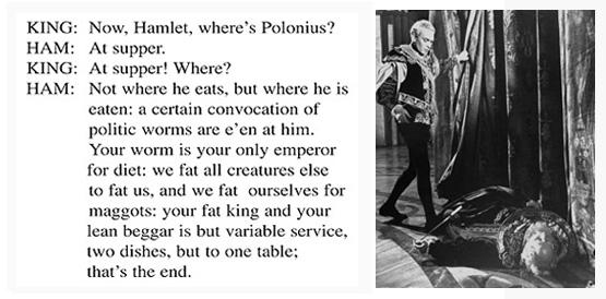 Hamlet & Polonius