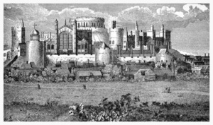 Hollar-Windsor Castle from the south