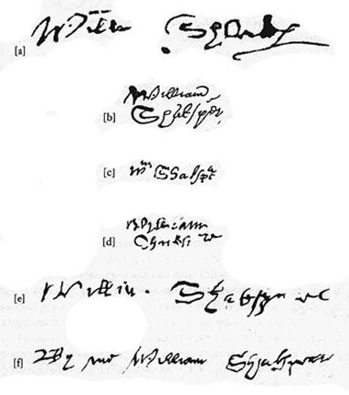 Six signatures
