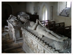 Tombs of the 8th and 11th earls of Oxford.