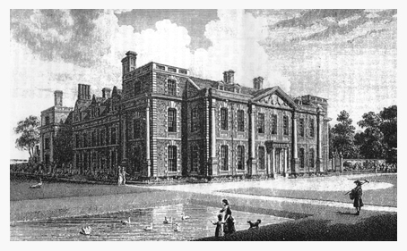 Hill Hall in the 18th century