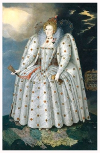 Queen Elizabeth, 1592 (click to enlarge)