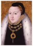 Queen Elizabeth in 1560