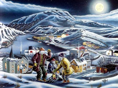 Recent illustration by a Newfoundland artist.