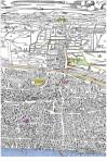 Bishopsgate birdseye map c.1565