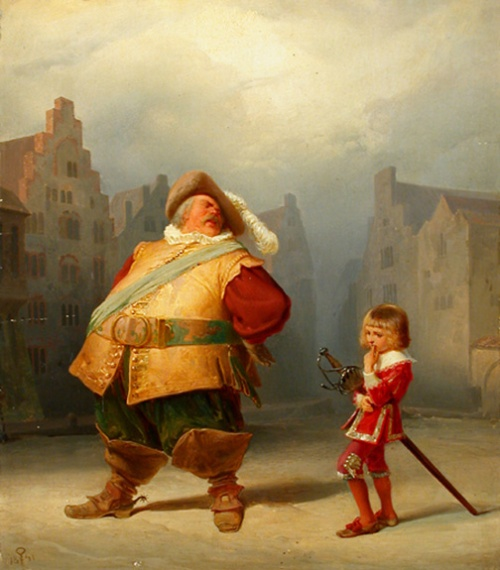 A better conception of Falstaff and his page